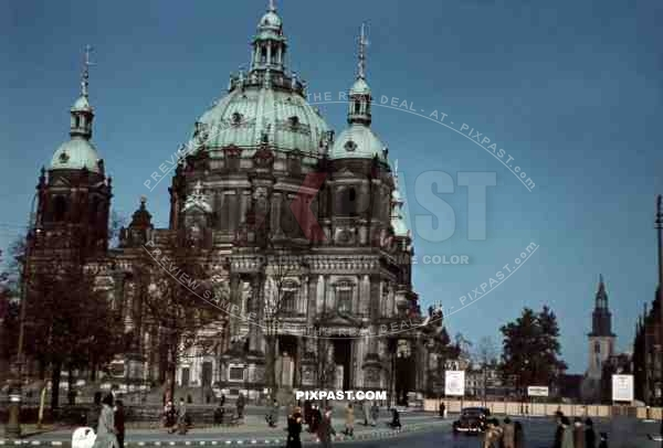 Berliner Dom, Berlin Cathedral, Berlin Germany 1942.