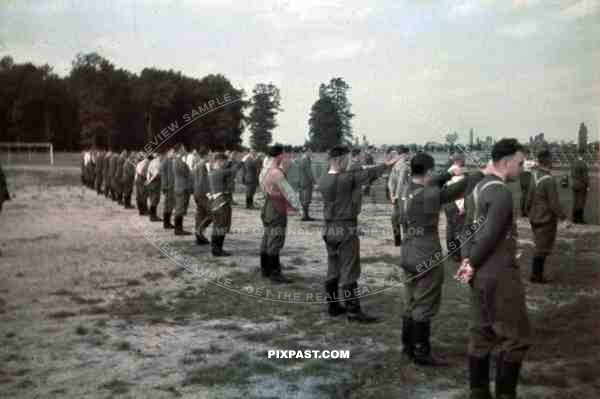 Medical  Wehrmacht field exercise in Kandel, Germany 1940