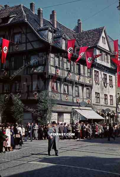 shops at the kaiser joseph strasse in freiburg im breisgau germany 1939 1 location town. Black Bedroom Furniture Sets. Home Design Ideas