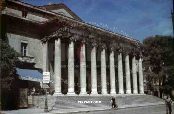 The Nimes Theater, France ~1941