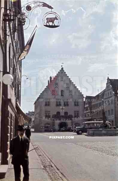 Townhall of Bad Mergentheim, Germany 1941
